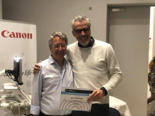 echografie cursus professor Carlo Martinoli